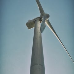 Photo taken at Bangui Windmills by Noël D. on 5/31/2015