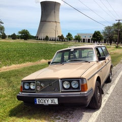 Photo taken at Davis-Besse Nuclear Power Station by Vicki G. on 7/5/2014