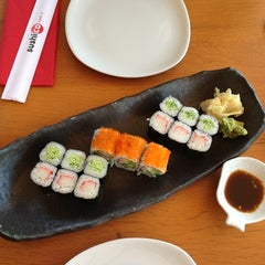 Photo taken at SushiCo by Hande B. on 7/24/2013