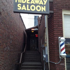 Photo taken at Hideaway Saloon by Markus S. on 2/27/2013