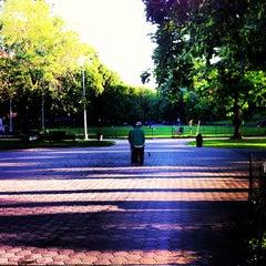 Photo taken at Marcus Garvey Park by Uzo on 6/5/2013