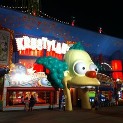 Photo taken at The Simpsons Ride by José Carlos R. on 5/31/2013