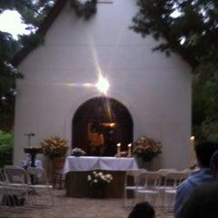 Photo taken at Santuario Schoenstatt Los Pinos by Pablo G. on 10/19/2013