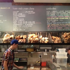 Photo taken at Tompkins Square Bagels by Jon F. on 9/29/2012
