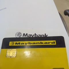 Photo taken at Maybank by Mohd S. on 1/27/2015