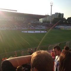 Photo taken at BSFZ Arena - Südstadt Stadion - Trenkwalder Arena by Josef S. on 8/10/2013