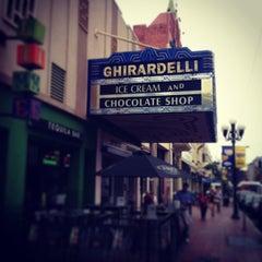 Photo taken at Ghirardelli Ice Cream & Chocolate Shop by Keitaro H. on 4/13/2013