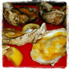 Photo taken at Sandbar Seafood, Deli, And Oyster Bar by Roger J. on 7/22/2015