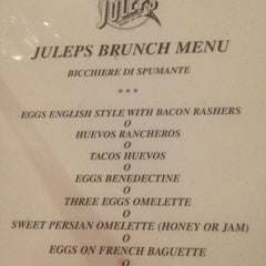 Photo taken at Julep's by Cinzia F. on 3/10/2013