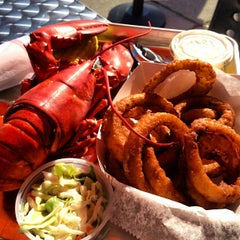 Photo taken at Yankee Lobster by Jim on 6/15/2013