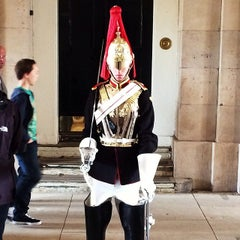Photo taken at London 2012 Horse Guards Parade by Dan V. on 4/12/2014