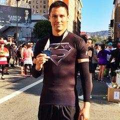 Photo taken at Hollywood Half Marathon & 5k / 10k by Dan V. on 4/5/2014