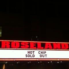 Photo taken at Roseland Ballroom by Elio A. on 4/10/2013