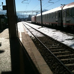 Photo taken at Stazione di Rovereto by grammancino on 12/19/2012