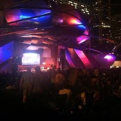 Photo taken at Chicago Jazz Festival by Rebecca S. on 9/2/2013