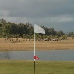 Photo taken at Laranjal Golf - Quinta do Lago by Sandy M. on 12/13/2013