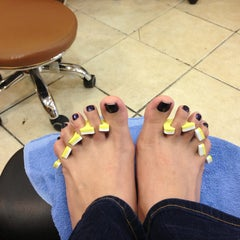 Photo taken at Joytime Nails by V A. on 5/11/2013