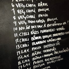 Photo taken at Restaurang Kalori by Simon K. on 2/19/2014