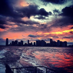 Photo taken at Hudson River by Lina J. on 12/28/2012