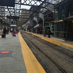 Photo taken at Union Station Platform 5 by Michelle Santos M. on 9/19/2015
