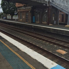Photo taken at Homebush Station by Bongwoon S. on 10/27/2015