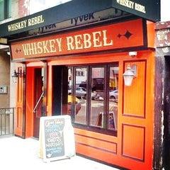 Photo taken at Whiskey Rebel by Whiskey Rebel on 8/8/2013