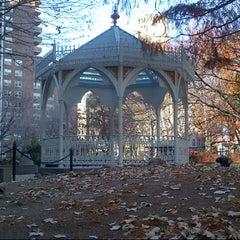 Photo taken at Washington Market Park by Tim J. on 11/23/2012