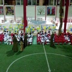 Photo taken at Iskandharu School by Fazyl H. on 10/23/2013