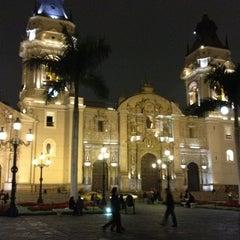 Photo taken at Plaza Mayor de Lima by Nubia I. on 10/5/2012