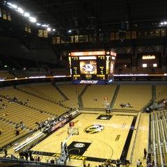 Photo taken at Mizzou Arena by Tom C. on 2/1/2013