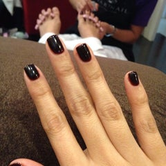Photo taken at Luxurious Nails by Alessandra A. on 12/7/2013