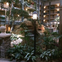 Photo taken at Embassy Suites by Hilton Pittsburgh International Airport by Dan B. on 1/7/2014