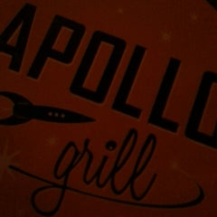 Photo taken at Apollo Grill by Michael O. on 1/11/2014