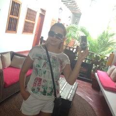 Photo taken at Hotel Casa del Curato Cartagena de Indias by Yanire M. on 5/15/2013