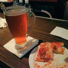 Photo taken at Red's Savoy Pizza by Curtiss J. on 3/22/2015