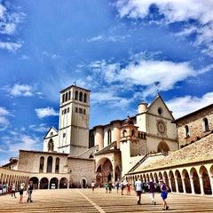 Photo taken at Basilica di San Francesco by ivan w. on 8/10/2013