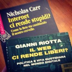 Photo taken at Feltrinelli by Riccardo S. on 2/16/2014