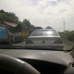 Photo taken at Jalan Tol Tangerang - Merak by Calvin A. on 5/28/2013
