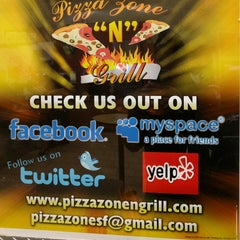 Photo taken at Pizza Zone 'N' Grill by Pierre A. on 4/20/2016