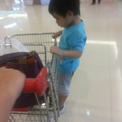 Photo taken at Carrefour by Margaretha T. on 10/19/2013