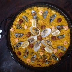Photo taken at Ipar's Restaurante Y Bar De Tapas by Carlo Andrew O. on 7/9/2015