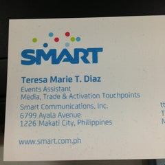 Photo taken at SMART Tower by Rizza D. on 9/27/2013