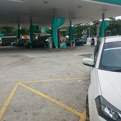 Photo taken at PETRONAS Station by m.a c. on 2/4/2015