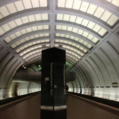 Photo taken at Tenleytown-AU Metro Station by Shannon H. on 2/16/2013