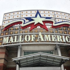 Photo taken at Mall of America by Nick D. on 1/27/2013