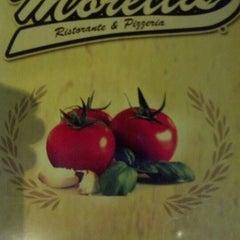 "Photo taken at Moretti's Ristorante & Pizzeria by Brad ""IronGoof"" M. on 11/25/2012"