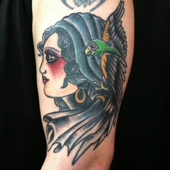Photo taken at Northern Liberties Tattoo by Kyle F. on 7/17/2014