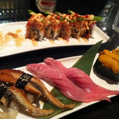 Photo taken at Ocean Blue Sushi Club by Paul R. on 11/11/2012