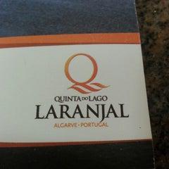 Photo taken at Laranjal Golf - Quinta do Lago by Arthur B. on 8/14/2013