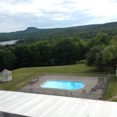 Photo taken at The Lucerne Inn by Nancy A. on 6/22/2014